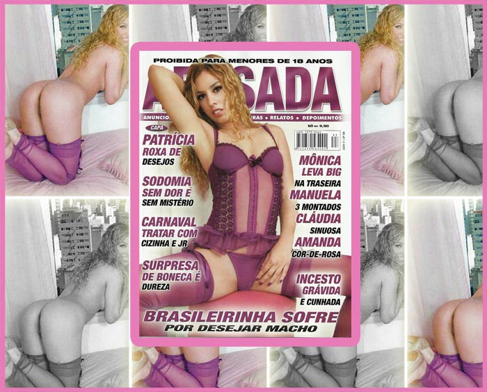 Patricia Kimberly na capa da Revista Abusada